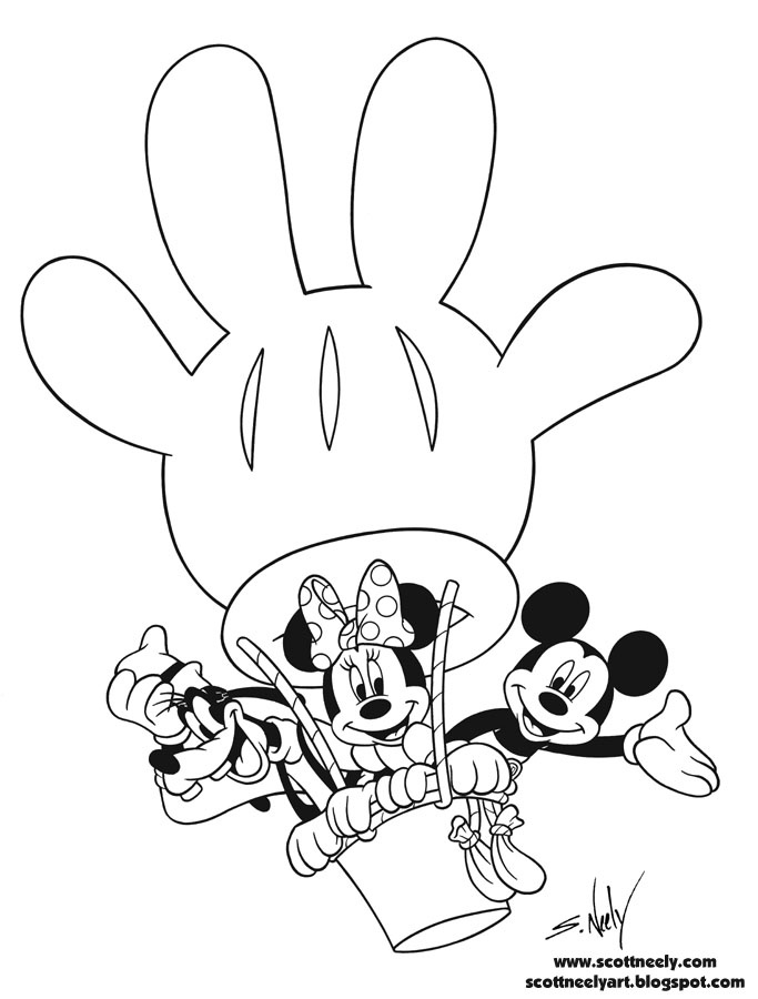 683x900 Mickey Mouse Club House Coloring Pages