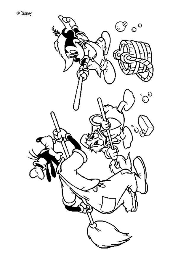 601x850 Mickey Mouse Coloring Pages