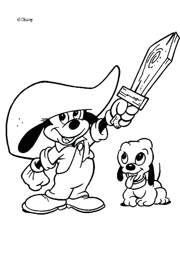 601x850 Baby Mickey Mouse Friends Coloring Pages Coloring Pages Mickey