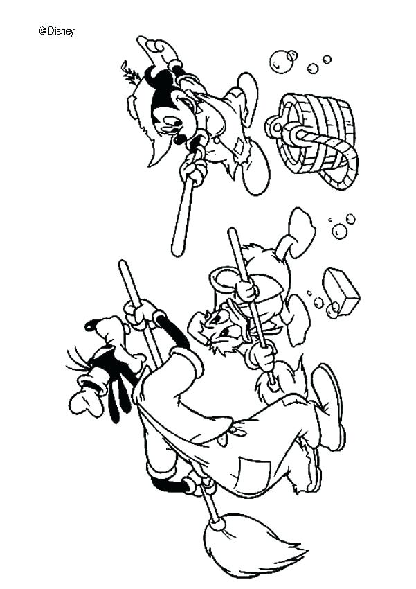 601x850 Mickey Mouse Free Coloring Pages