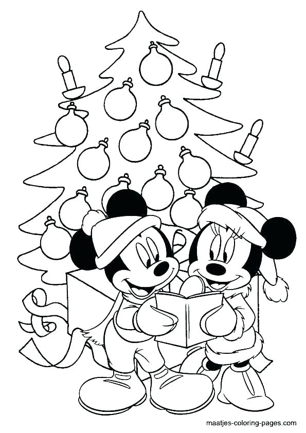 595x842 Mickey And Minnie Coloring Pages Icontent