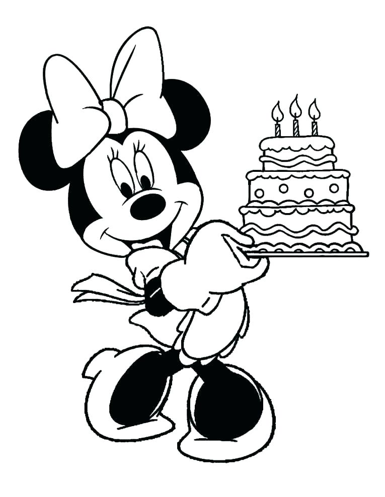 765x989 Minnie Mouse Clubhouse Coloring Pages Mouse Coloring Pages Mouse