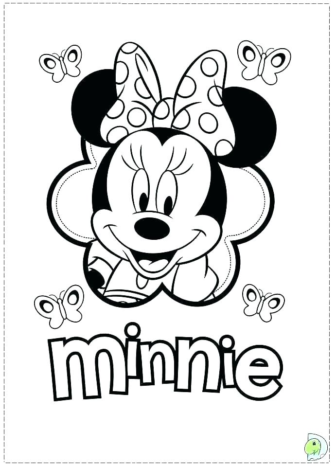 691x960 Printable Minnie Mouse Coloring Pages Printable Mouse Coloring