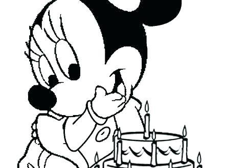 440x330 Minnie Mouse And Mickey Mouse Coloring Pages Deepart
