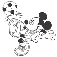 230x230 Top Free Printable Mickey Mouse Coloring Pages Online