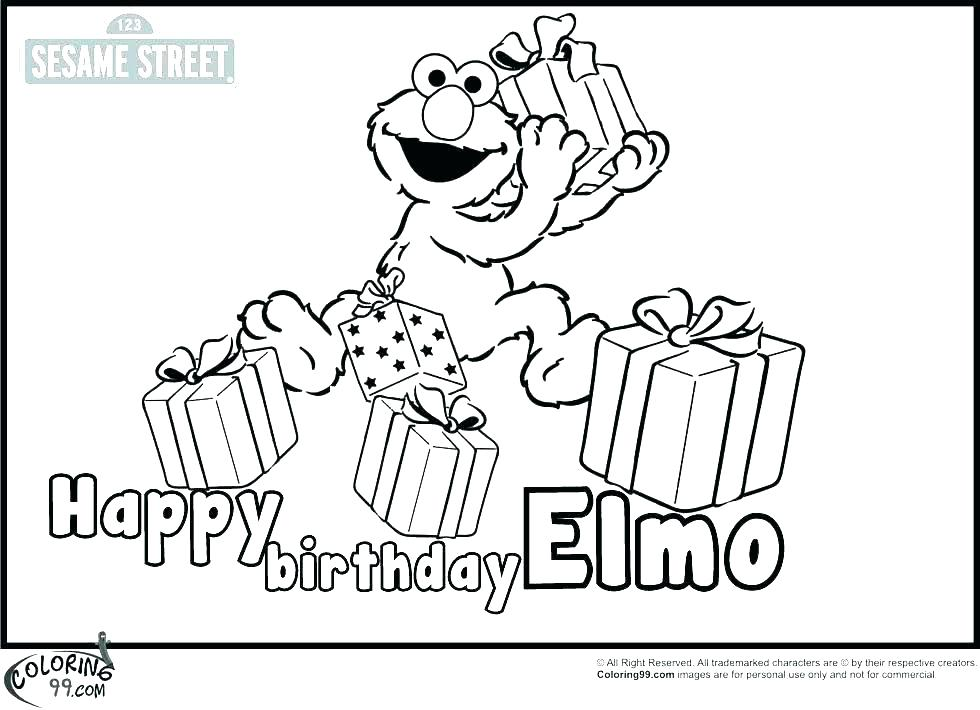 980x710 Birthday Coloring Pages Free Happy Birthday Coloring Pages Free