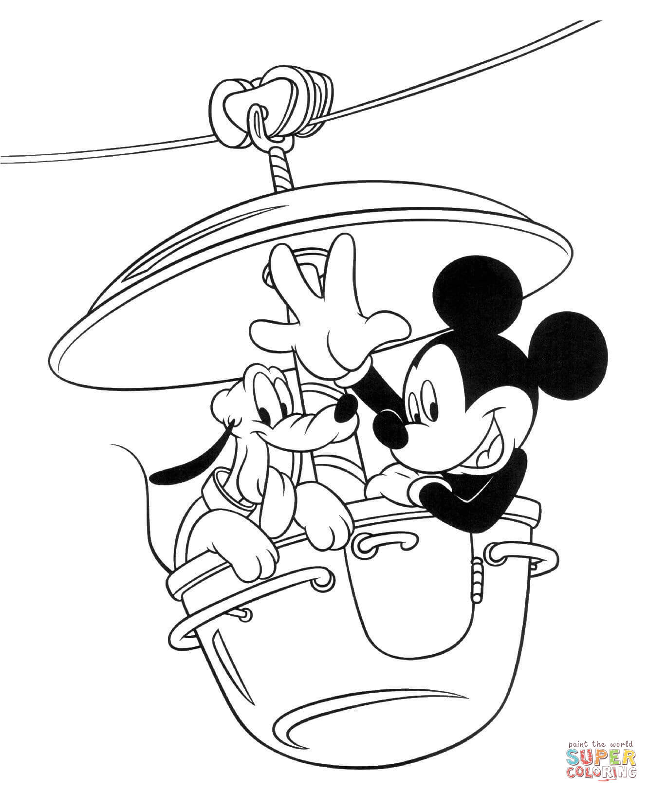 1331x1627 Mickey Mouse Coloring Pages Free Coloring Pages Coloring Pages
