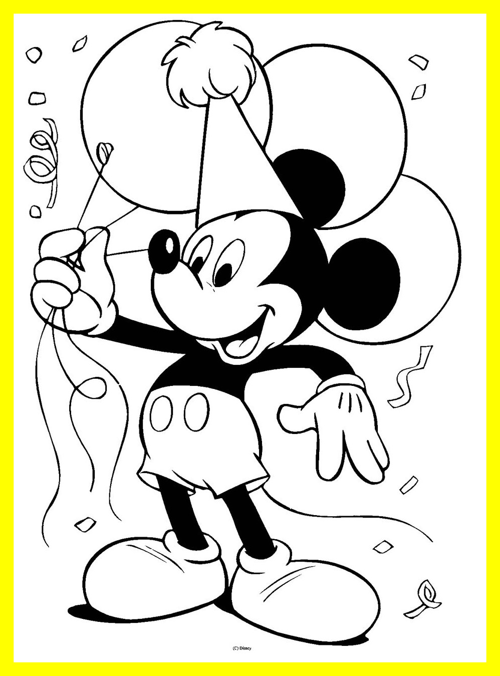 998x1349 Amazing Mickey Mouse Clubhouse Characters Coloring Pages Newyork