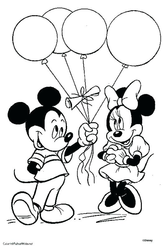 525x791 Mickey Mouse Baby Coloring Pages Mickey Mouse And Friends Coloring