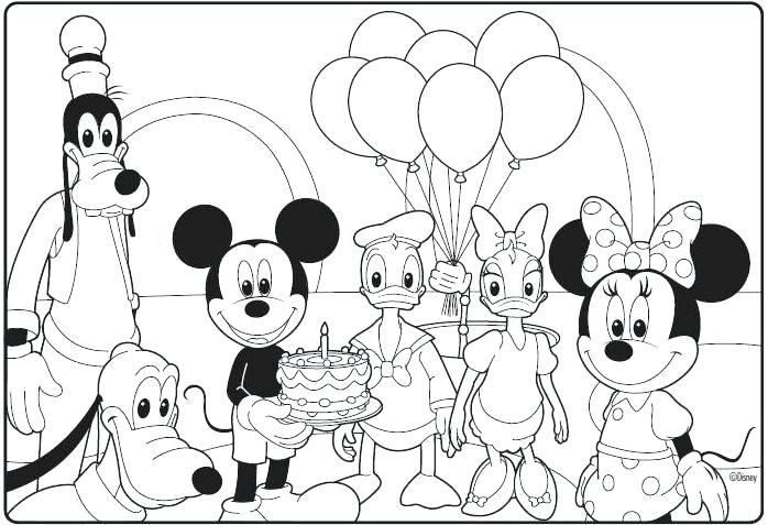 698x477 Mickey Mouse Clubhouse Coloring Pages Goofy Mickey Mouse Clubhouse