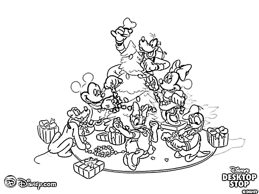 1024x768 Here Are Two Christmas Coloring Pages With Hello Kitty
