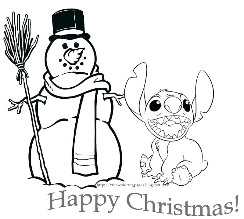 800x717 Christmas Color Pages To Print Free Coloring Pages Stitch Lilo