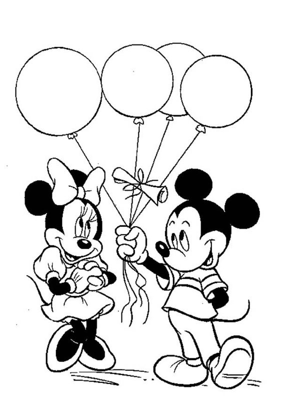 564x827 Mickey Mouse Clubhouse Coloring Pages Online