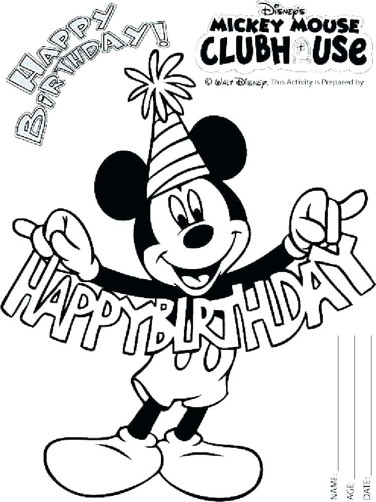 750x1000 Mickey Mouse Clubhouse Coloring Pages Free Mickey Mouse Clubhouse