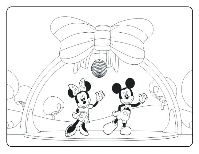 647x500 Mickey Mouse Clubhouse Coloring Pages To Print For Free Medium