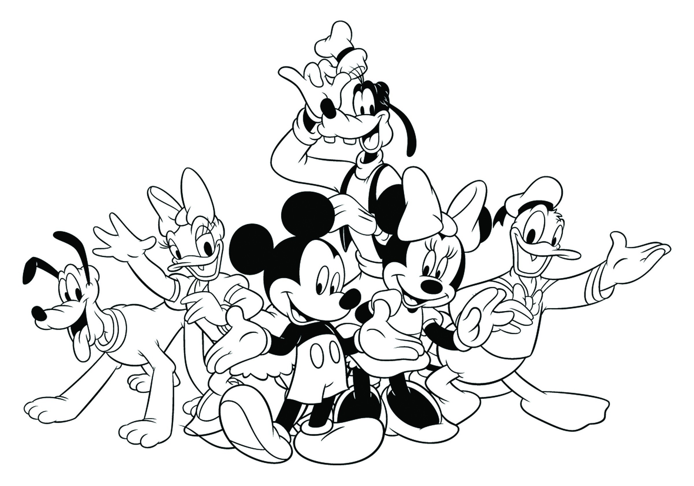 Mickey Mouse Clubhouse Toodles Coloring Pages At Getdrawings
