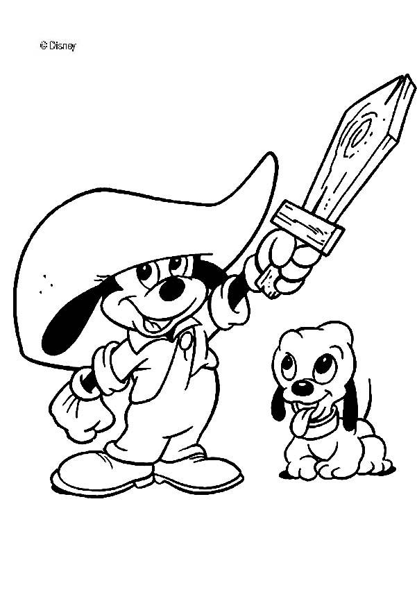 601x850 Minnie And Mickey Together Coloring Pages