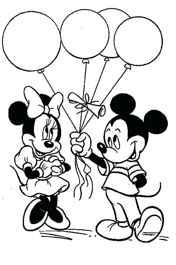600x904 Minnie Mouse Coloring Pages Printable