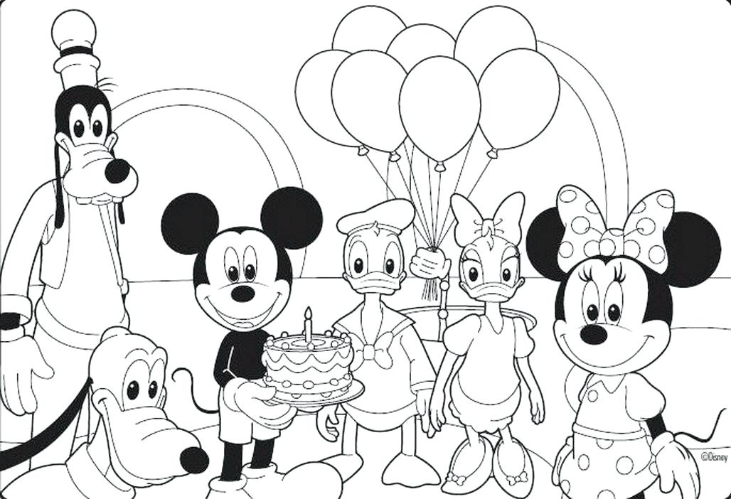 1028x702 Mickey Mouse Free Coloring Pages Download Print Birthday Mickey