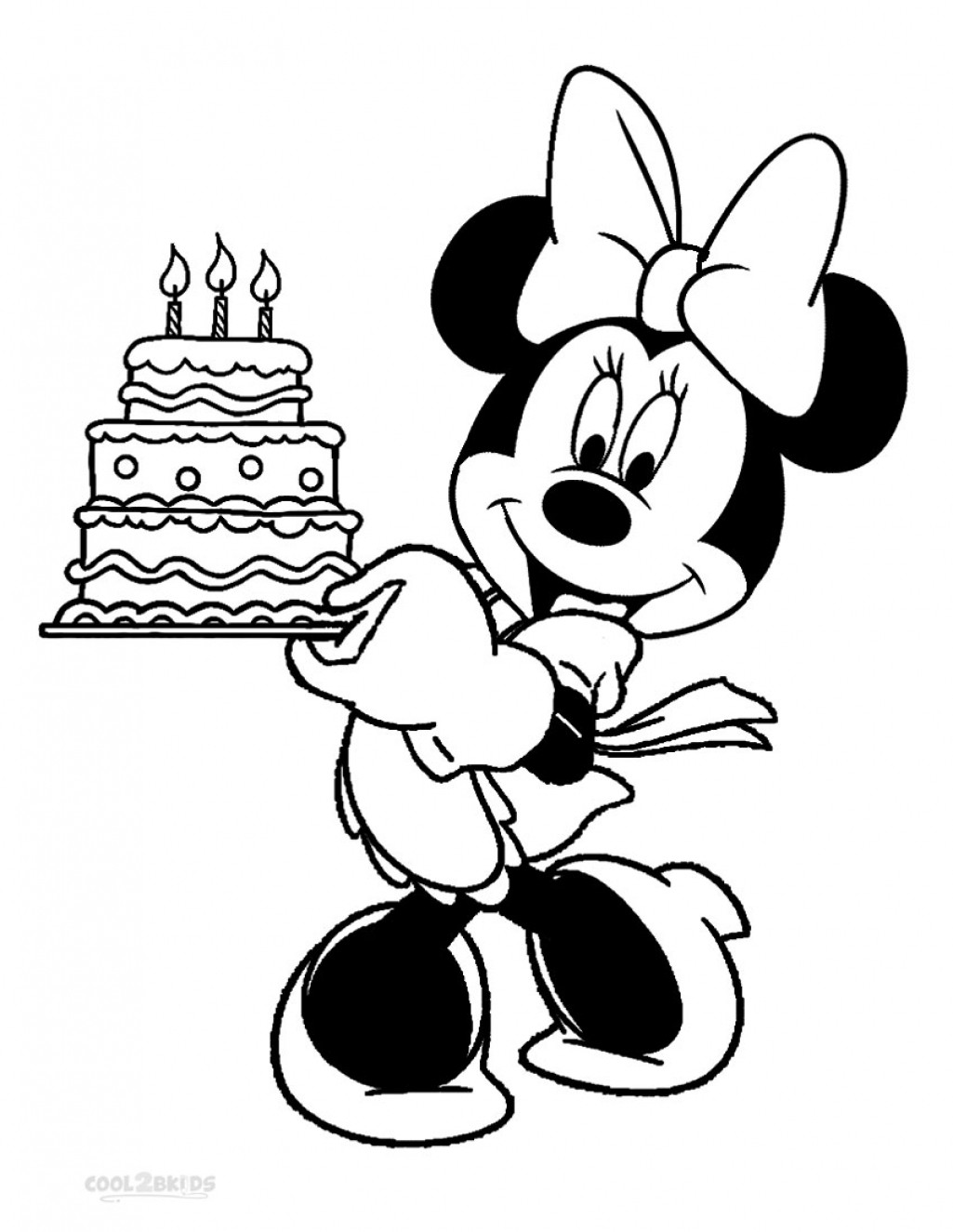 1025x1325 Minnie Mouse Coloring Page Baby Mickey Pages To Print Copy Free