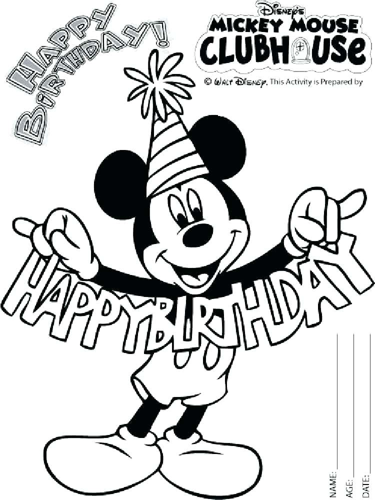 750x1000 Free Mickey Great Mickey Mouse Coloring Pages Print Mickey Mouse