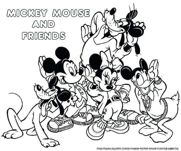721x600 Mickey Mouse Halloween Coloring Pages Coloring Pages Mickey Mouse