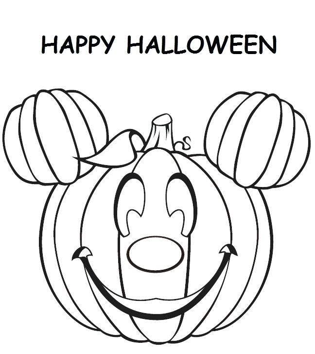 648x727 Mickey Mouse Halloween Coloring Pages Mickey Mouse Pumpkin