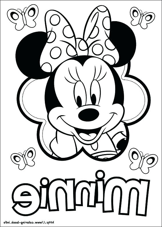 567x794 Mouse Coloring Pages Mouse Coloring Pages Free Printable Mickey