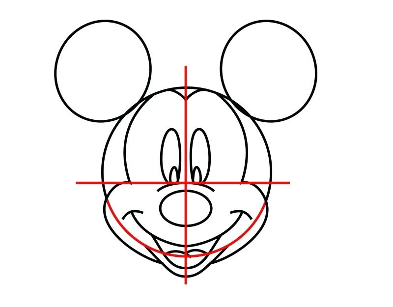 800x625 Mickey Mouse Head Coloring Pages