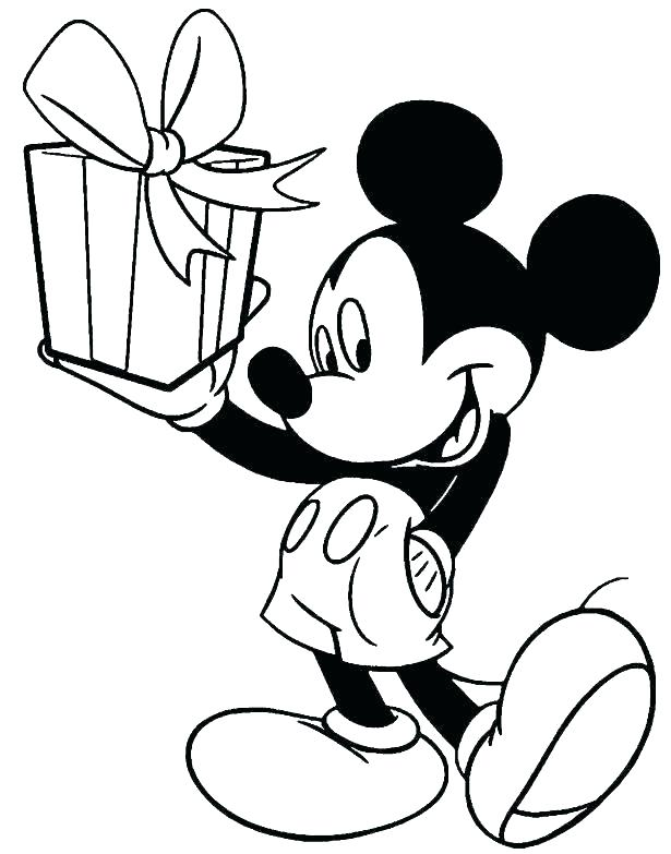 615x783 Printable Coloring Pages Mickey Mouse Free Mickey Mouse Clubhouse