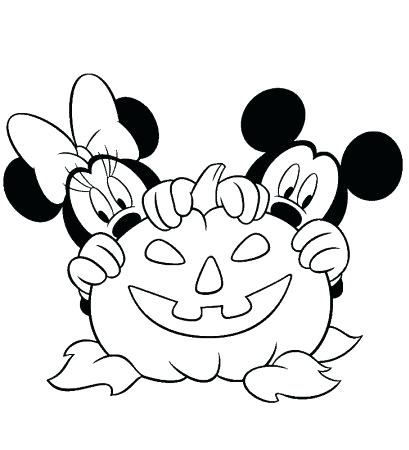 409x450 Minnie And Mickey Mouse Coloring Pages Mickey Coloring Page Mickey