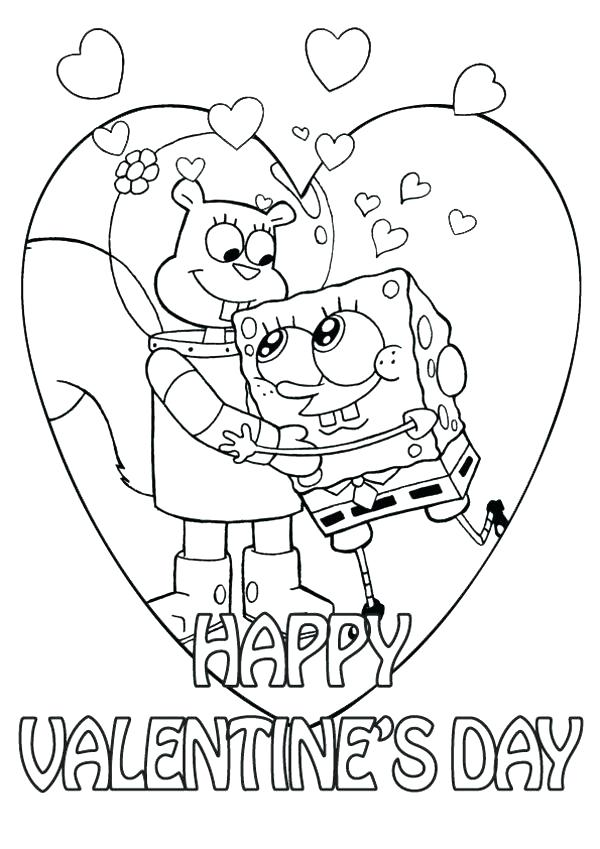 600x849 Valentines Day Coloring Page Valentine Coloring Pages Free As