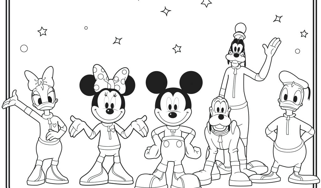 1024x600 Mickey Mouse Thanksgiving Coloring Pages Mickey Mouse Clubhouse