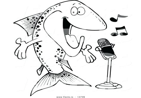 476x333 Microphone Outline Coloring Pages Page Image Images Cartoon