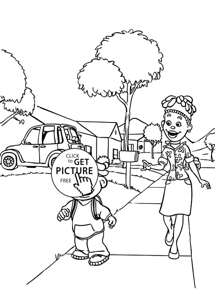 730x1024 Sid And Microphone Coloring Pages For Kids Freecolorngpages Co