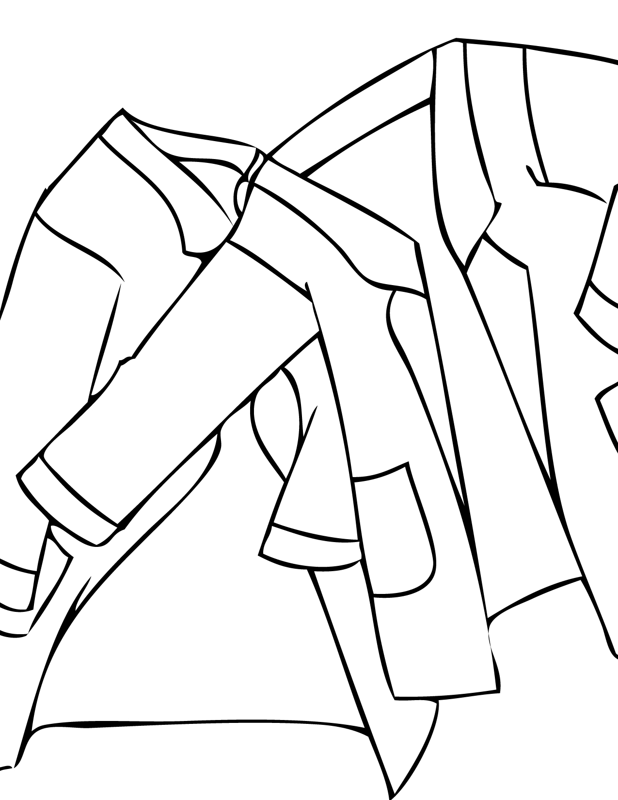 1275x1650 Lab Coat Coloring Page