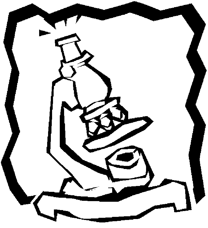 675x738 Microscope Coloring Pages