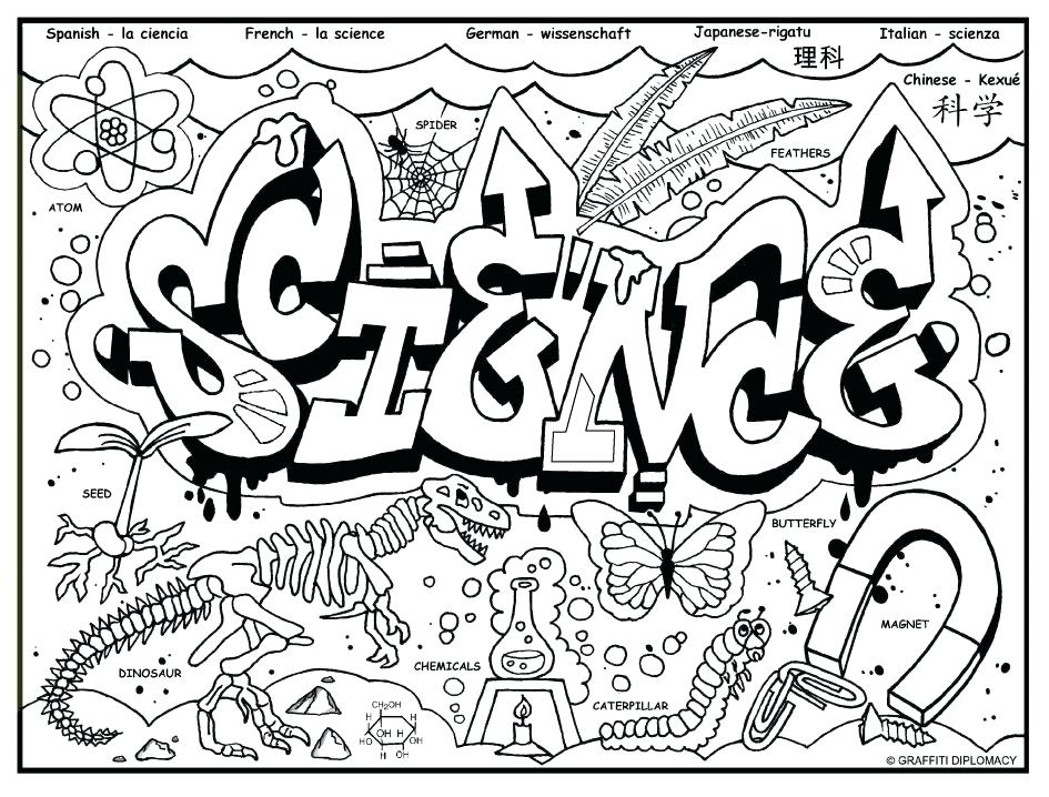 945x718 New Biology Coloring Pages Printable In Good Biology Coloring