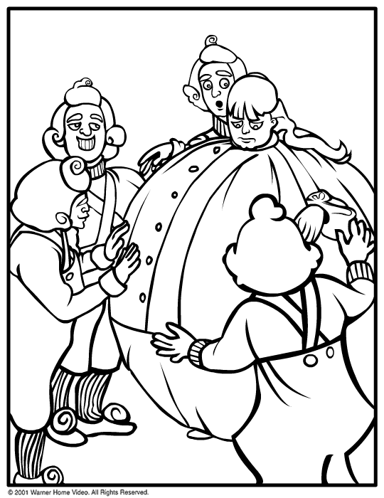 540x700 Wonkacolor Willy Wonka Coloring Pages Party Ideas