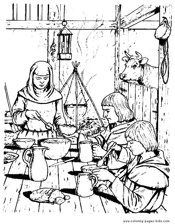 560x718 Best Sca Youth Coloring Pages Images On Middle Ages