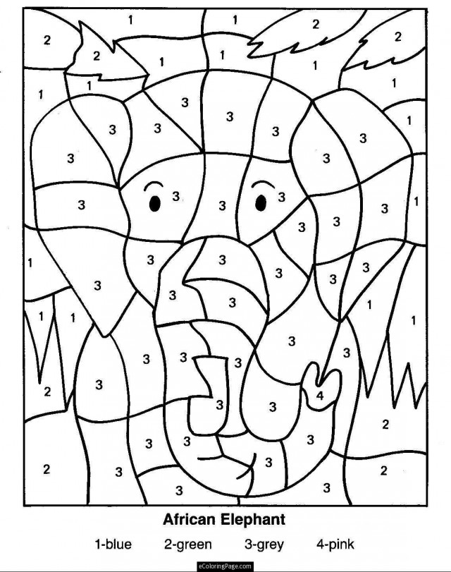 640x811 Math Coloring Pages