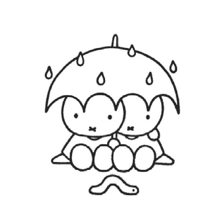 Miffy Coloring Pages