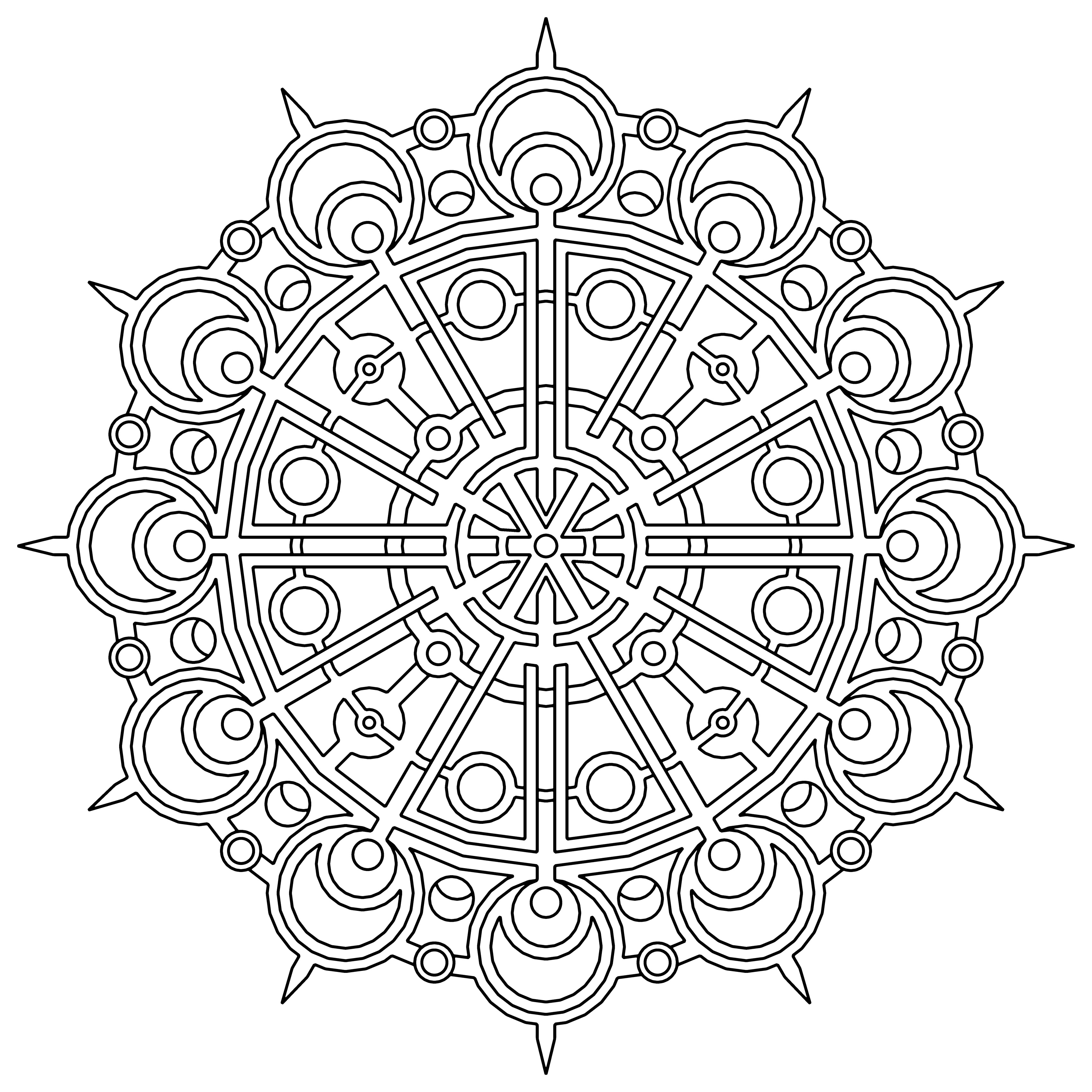 3400x3400 Coloring Paper Luxury Free Printable Geometric Coloring Pages