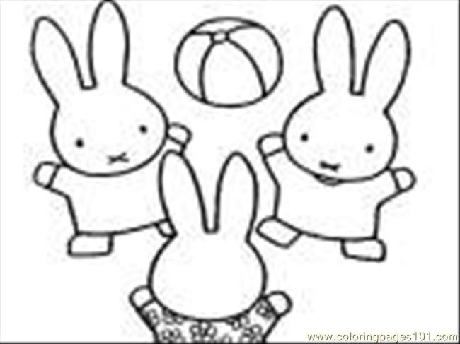 650x487 Miffy Coloring Pages Coloring Pages