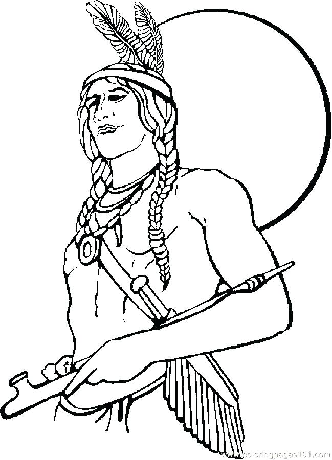 649x900 Navajo Indian Coloring Pages