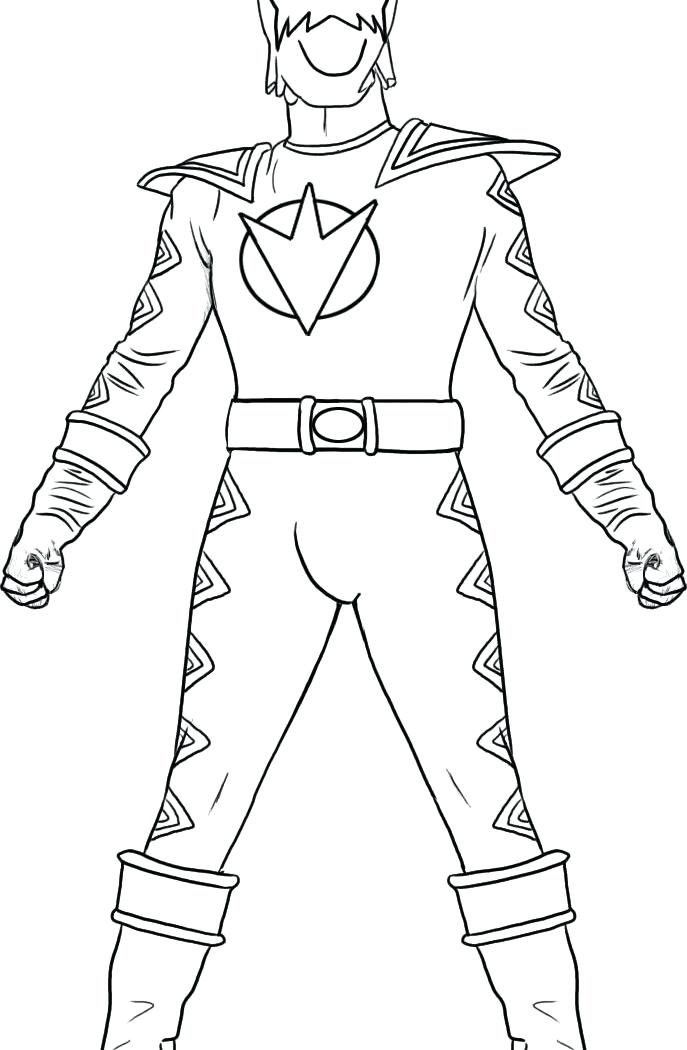 Mighty Morphin Power Rangers Coloring Pages At Getdrawings Com
