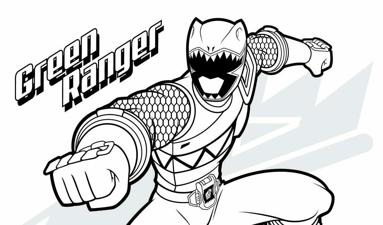 Mighty Morphin Power Rangers Coloring Pages at GetDrawings ...