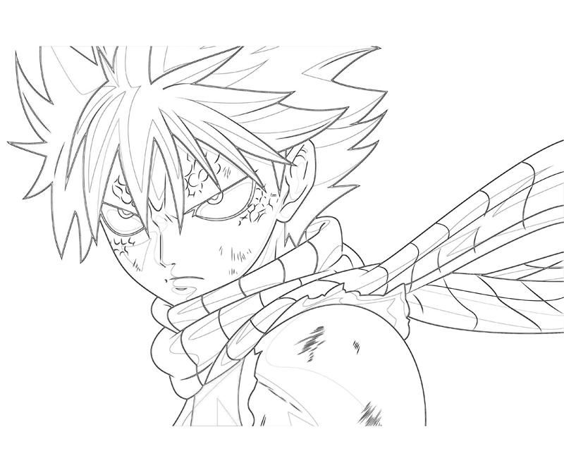 800x667 Fairy Tail Natsu Coloring Pages Angel Fairy And Anime