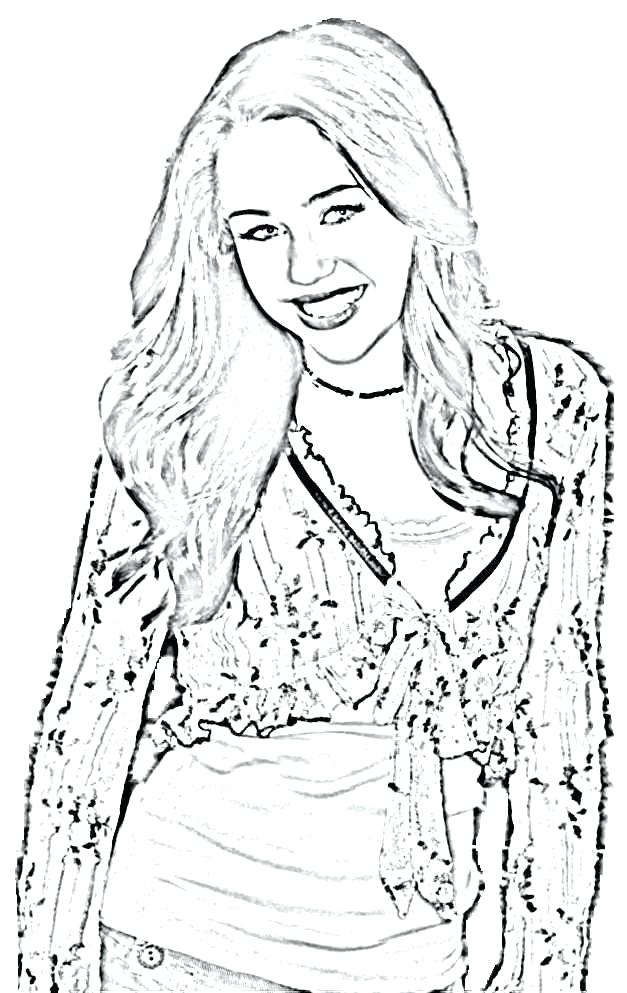 The Best Free Miley Coloring Page Images Download From 53 Free Coloring Pages Of Miley At Getdrawings