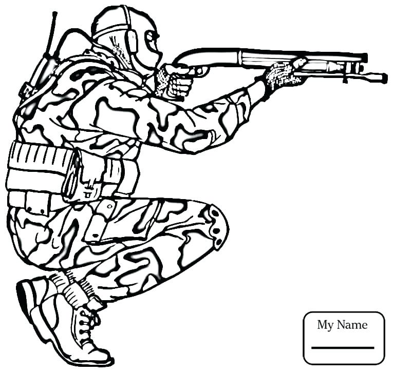 765x727 Military Coloring Pages